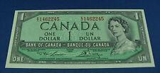 1954 $1 Bank of Canada Lawson Bouey  BC-37d E/I  UNC 1462245