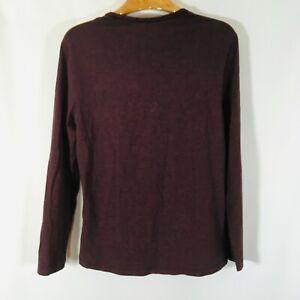 Lululemon Active Wear T-Shirt S Crew Neck Tee Long sleeve purple