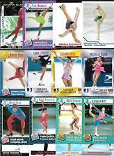 Lot(34)SI for Kids-Olympic ICE SKATING Cards-Nancy Kerrigan/Michelle Kwan/Baiul+