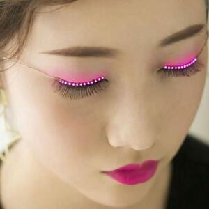 Fashionable Sparkle Interactive LED Light Up Waterproof Eyelashes for Christmas