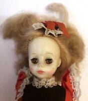 "Vintage HORSMAN DOLL INC ≈ 14"" Hard Vinyl Plastic Doll ≈ Brown Eyes Open/Close"