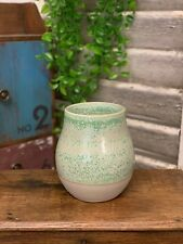 Rustic Style Ceramic Vase Crackle Mercury Effect Glazed Earthenware Bottle
