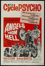 ANGELS FROM HELL Movie POSTER 27x40 Tom Stern Arlene Martel Ted Markland Stephen