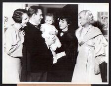 MARY ASTOR Pat O'Brien MARION DAVIES 1935 Vintage Orig Photo actor actress