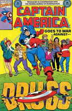 Captain America Goes to War Against Drugs #1 VF/NM; Marvel | save on shipping -