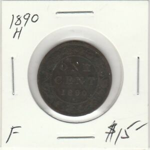 Canada 1890H Large Cent