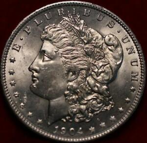 Uncirculated 1904-O New Orleans Mint Morgan Dollar