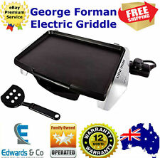 Electric Griddle Grill Kitchen Portable Non Stick Flat Pan Tray George Foreman