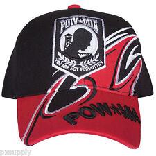 cap ballcap hat pow mia you are not forgotten fox outdoor 78-4441