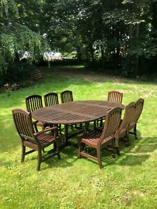 Used Garden Table and Chairs