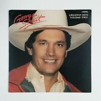 GEORGE STRAIT Greatest Hits Volume Two MCA42035 LP Vinyl VG++ Cover VG+ Club
