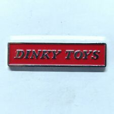 Pin's Pins Badge Dinky Toys Jouet Anglais Voiture Atlas Collection Ancien B08DT