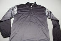 Spyder Quarter Zip Long Sleeve Mock Sporting Shirt Small s