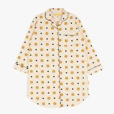 Kakao Friends Women Ryan White Pajama OPS Cozy Home Wear Sleepwear Free Size
