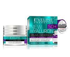 Eveline New Hyaluron 50 + Lifting Cream Serum Reducing Wrinkles Day Night SPF 8