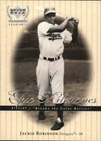 1999 Upper Deck Century Legends Baseball Insert Singles (Pick Your Cards)