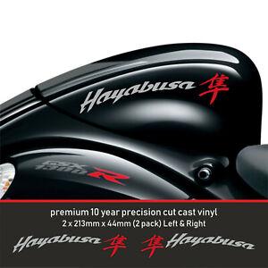 Hayabusa 1300 1340 Fairing Decal Sticker premium10year Vinyl Fits Suzuki