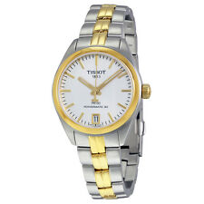 Tissot PR 100 Automatic Silver Dial Ladies Watch T101.207.22.031.00