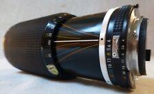 Nikon - Zoom Nikkor 1:4 - 80/200 mm  monture Nikon F avec fourchette de couplage