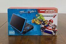 Nintendo 2DS XL Black/Turquoise Handheld Gaming System With Mario Kart 7