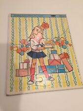 Vintage 1963 Charmin' Chatty Cathy Frame Tray Puzzle Whitmas Mattel
