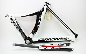 Cannondale Slice Carbon Triathlon Rahmen + Gabel Set Aero TT 28 Zoll BB30 54 cm
