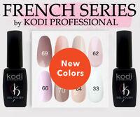 FRENCH series Kodi Professional - NEW Gel LED/UV Nail Polish Color 8 ml ORIGINAL