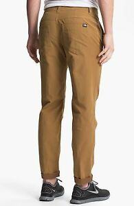 The North Face Granite Dome men's Pants Utility Brown mustard 30 large bnwt