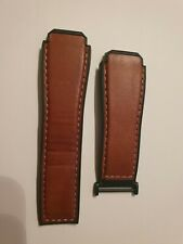 TAG HEUER Connected Modular 45 Brown Calfskin Straps model 2FT6110