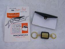 Vintage 1964 Park Motor Salesman Sample Keychain w/Change Purse