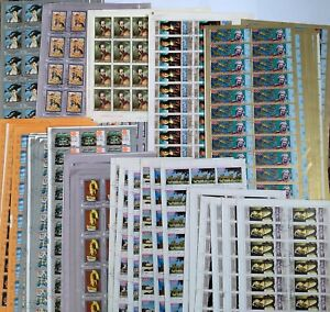 Worldwide Dealer Stamp Lots: 1677 Used Stamps in 237 Full Sets-10 Different Sets