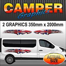 camper camper furgone GRAFICHE ESTERNO DECAL Sickers Set mhac002