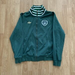 Umbro Ireland Soccer Track Jacket Size Men's Large