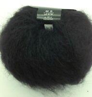 Lot de 10 pelotes de laine kid mohair 74 %  mohair  poils longs / Français