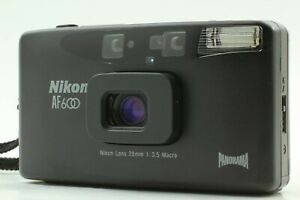 【NEAR MINT】 Nikon AF600 Panorama 35mm Point & Shoot Film Camera From Japan #0042