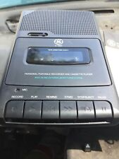 Ge 3-5027 Personal Portable Recorder And Cassette Player Built In Microphone