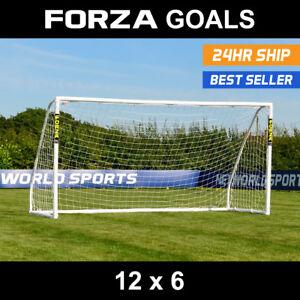 8x6ft Soccer Goal Post Nets 2.4x1.8m for Poly Samba Frames Sports