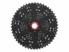 SUNRACE 11 Espacios Casete csmx80 11-50 DIENTES Negro Con Rojo Lockring