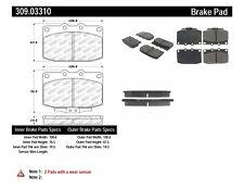 Disc Brake Pad Set-Sport Brake Pads Front Stoptech fits 86-91 Mazda RX-7