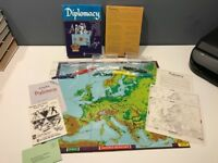 DIPLOMACY - Vtg 1976 Board Game, Avalon Hill, Seek Control Of Europe, MUST SEE!
