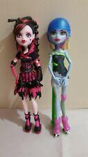 Monster high dolls.