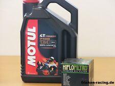 Motul Öl 7100 10W40 vollsyn / Ölfilter Yamaha FJR 1300 A AE AS ES ABS ab Bj 2013
