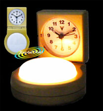 PSV Beep Alarm Clock GOLD White Push Light Function