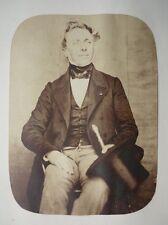 1853 - Roger du Val COMTE DU MANOIR - SALT PRINT - CALOTYPE - PORTRAIT