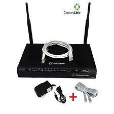 CenturyLink Technicolor C2000T Wireless DSL Telephony Modem Router & Phone Cord