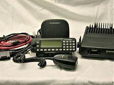 Motorola Mcs2000 Iii Model Mo1hx437w 110 Watt Vhf Radio 146 174 Mhz Complete