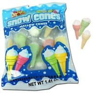 Albert's Marshmallow Snow Cones - Individually Wrapped - 3 Count  Bags