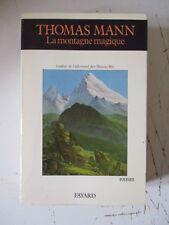 """Thomas Mann    """" La Montagne magique """""""