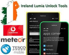 NOKIA / MICROSOFT  LUMIA  - THREE  IRELAND - UNLOCK CODES - ALL MODELS