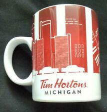 Tim Hortons Coffee Mug Michigan 2016 Series 1